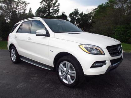 2012 MERCEDES BENZ ML350 4MATIC - WHITE ON BEIGE