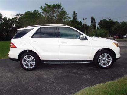 2012 MERCEDES BENZ ML350 4MATIC - WHITE ON BEIGE 2
