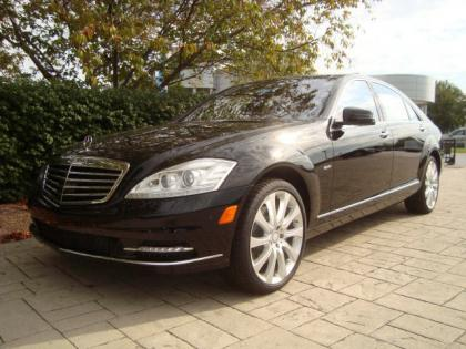 2012 MERCEDES BENZ S350 4MATIC - BLACK ON BROWN 1