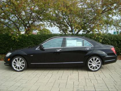 2012 MERCEDES BENZ S350 4MATIC - BLACK ON BROWN 2