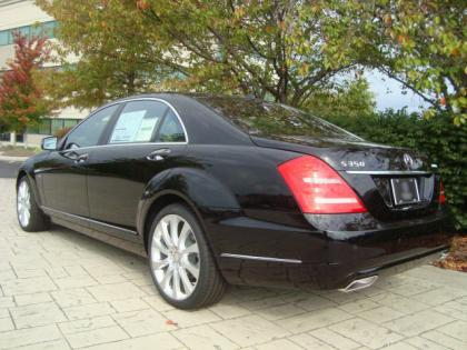 2012 MERCEDES BENZ S350 4MATIC - BLACK ON BROWN 3