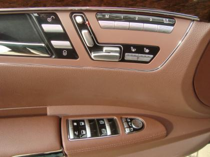 2012 MERCEDES BENZ S350 4MATIC - BLACK ON BROWN 7
