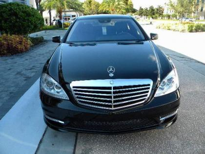 2012 MERCEDES BENZ S350 BASE - BLACK ON BLACK 1