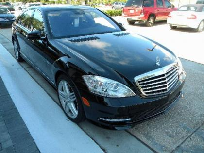 2012 MERCEDES BENZ S350 BASE - BLACK ON BLACK 2