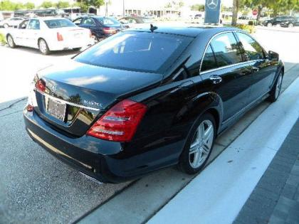 2012 MERCEDES BENZ S350 BASE - BLACK ON BLACK 4