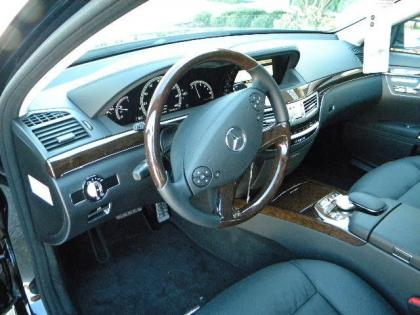 2012 MERCEDES BENZ S350 BASE - BLACK ON BLACK 6