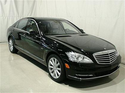 2012 MERCEDES BENZ S350 4MATIC - BLACK ON LIGHT BEIGE 1