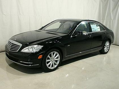 2012 MERCEDES BENZ S350 4MATIC - BLACK ON LIGHT BEIGE 2
