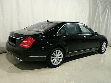 2012 MERCEDES BENZ S350 4MATIC - BLACK ON LIGHT BEIGE 4