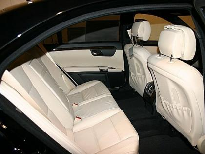 2012 MERCEDES BENZ S350 4MATIC - BLACK ON LIGHT BEIGE 8