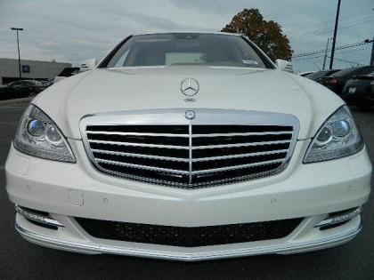 2012 MERCEDES BENZ S350 4MATIC - WHITE ON BEIGE