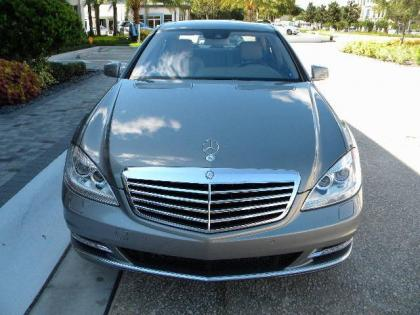 2012 MERCEDES BENZ S350 4MATIC - SILVER ON GRAY 1