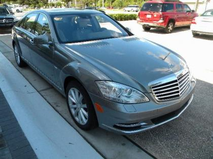 2012 MERCEDES BENZ S350 4MATIC - SILVER ON GRAY 2