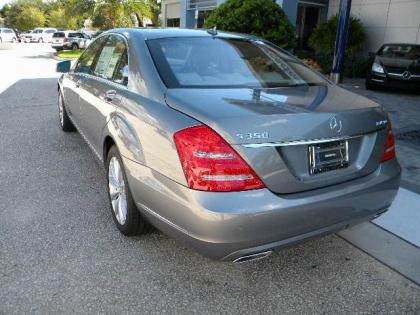 2012 MERCEDES BENZ S350 4MATIC - SILVER ON GRAY 3
