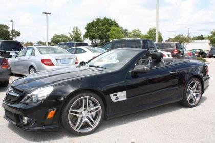 2012 MERCEDES BENZ SL63 AMG - BLACK ON BLACK 2