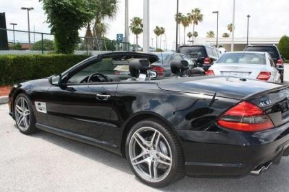 2012 MERCEDES BENZ SL63 AMG - BLACK ON BLACK 3