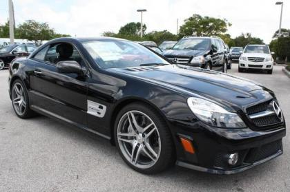 2012 MERCEDES BENZ SL63 AMG - BLACK ON BLACK 6