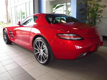 Export new 2012 mercedes benz sls amg red on white for Mercedes benz sls amg red