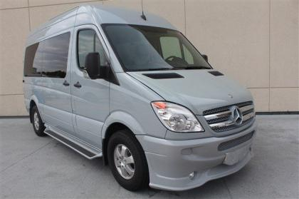 2012 MERCEDES BENZ SPRINTER 2500 144 WB - SILVER ON GREY