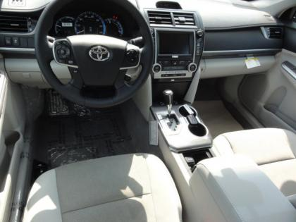 2012 TOYOTA CAMRY HYBRID XLE - BRONZE ON GREY 5