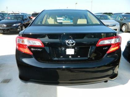 2012 TOYOTA CAMRY LE - BLACK ON BEIGE 3