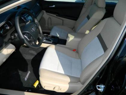 2012 TOYOTA CAMRY LE - BLACK ON BEIGE 5