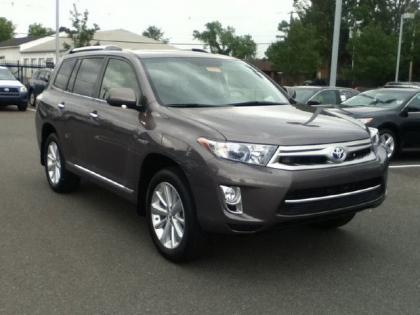 Export New 2012 Toyota Highlander Hybrid Limited Gray On