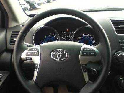 Export New 2012 Toyota Highlander Hybrid Limited Gray On