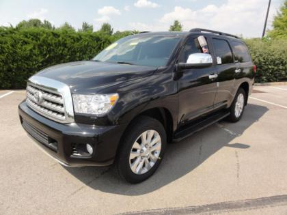 2012 TOYOTA SEQUOIA PLATINUM - BLACK ON GRAY 1