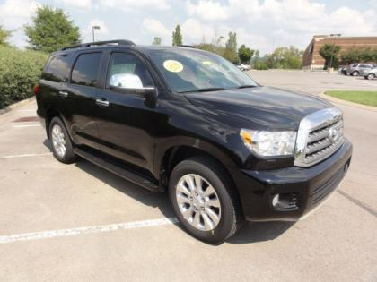 2012 TOYOTA SEQUOIA PLATINUM - BLACK ON GRAY 2