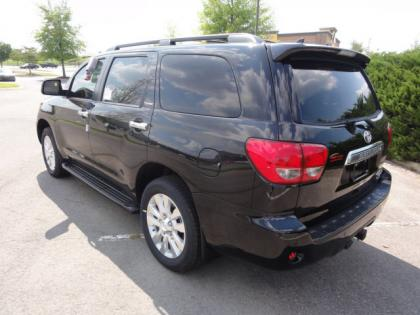2012 TOYOTA SEQUOIA PLATINUM - BLACK ON GRAY 3