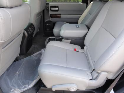 2012 TOYOTA SEQUOIA PLATINUM - BLACK ON GRAY 6