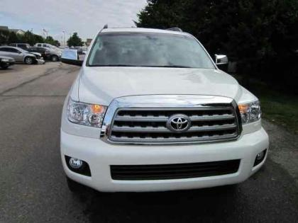 2012 TOYOTA SEQUOIA PLATINUM - WHITE ON GREY 2