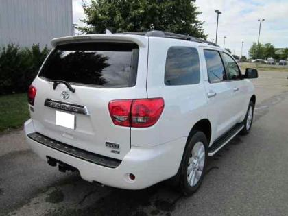 2012 TOYOTA SEQUOIA PLATINUM - WHITE ON GREY 4