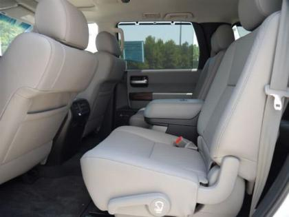 2012 TOYOTA SEQUOIA PLATINUM - WHITE ON GRAY 6
