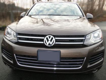 2012 VOLKSWAGEN TOUAREG TDI - BROWN ON BROWN 2