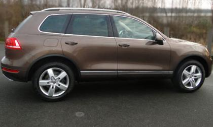 2012 VOLKSWAGEN TOUAREG TDI - BROWN ON BROWN 3