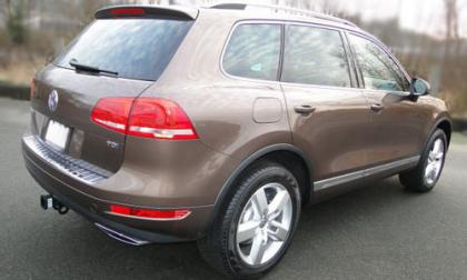 2012 VOLKSWAGEN TOUAREG TDI - BROWN ON BROWN 4