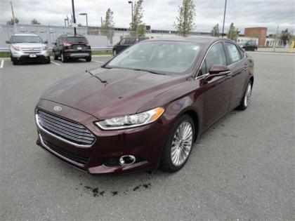 2013 FORD FUSION TITANIUM - BORDEAUX ON BLACK