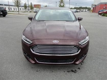 2013 FORD FUSION TITANIUM - BORDEAUX ON BLACK 2