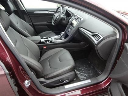 2013 FORD FUSION TITANIUM - BORDEAUX ON BLACK 5