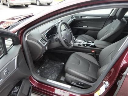 2013 FORD FUSION TITANIUM - BORDEAUX ON BLACK 8