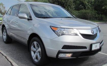 2013 ACURA MDX TECH PACKAGE - SILVER ON BLACK 1