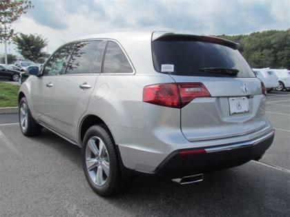2013 ACURA MDX TECH PACKAGE - SILVER ON BLACK 2