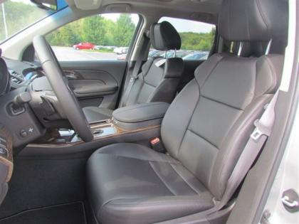2013 ACURA MDX TECH PACKAGE - SILVER ON BLACK 3