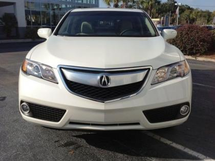2013 ACURA RDX TECH PACKAGE - WHITE ON BEIGE 3
