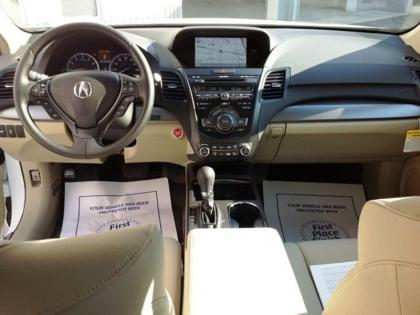 2013 ACURA RDX TECH PACKAGE - WHITE ON BEIGE 7