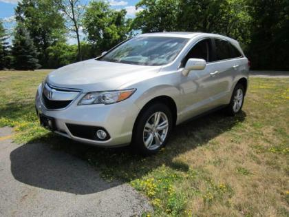 2013 ACURA RDX BASE - SILVER ON BLACK 1