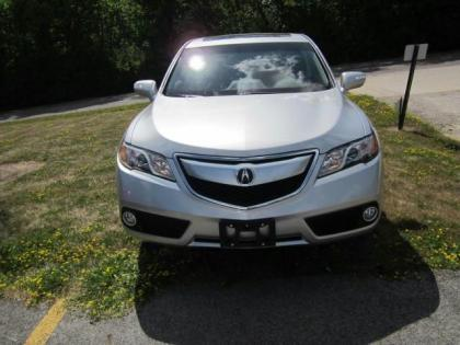 2013 ACURA RDX BASE - SILVER ON BLACK 2