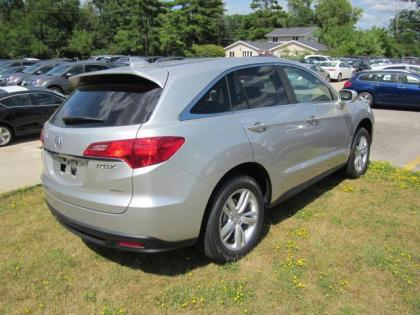 2013 ACURA RDX BASE - SILVER ON BLACK 3